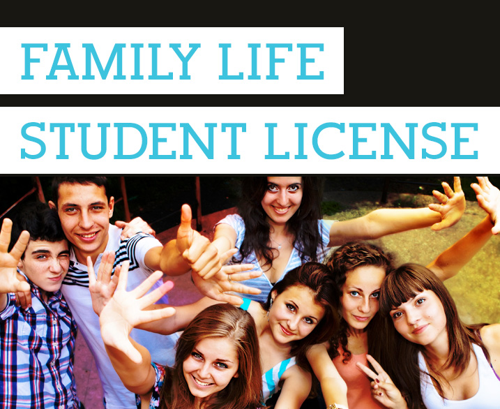 Family Life Student License